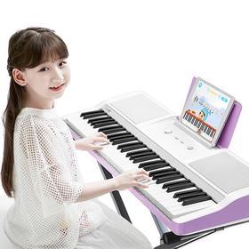 TheONE智能电子琴Light | 0基础入门,1天学会弹奏世界名曲 | 送琴凳琴架 | 保价全年