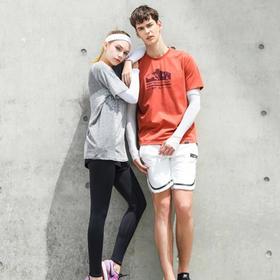 【穿上立刻凉感3-5°  告别熊猫臂】simo-time防晒冰袖  白色+黑色超值2套   男女通用