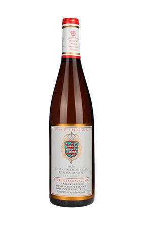 河神王子庄园约翰山精选甜白葡萄酒1982/Prinz von Hessen Johannisberger Klaus Riesling Auslese 1982