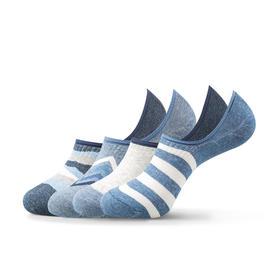 海军蓝隐形船袜