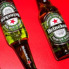 喜力进口赫尼根拉格啤酒330ml*6支(世界杯特惠)