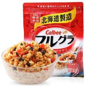 日本Calbee卡乐比水果麦片500g