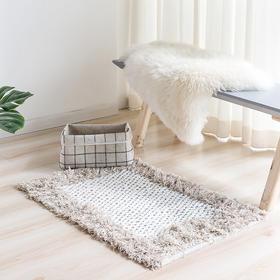 纳谷 | Twine系列印度手工流苏地毯