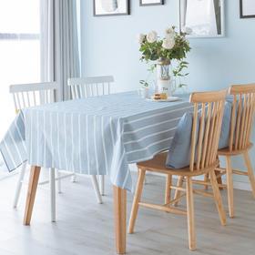 纳谷 | Slowly 蓝白条纹防水桌布