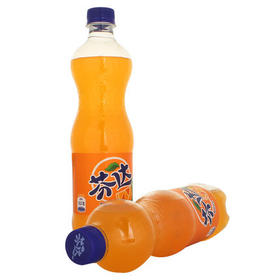 可口可乐芬达橙味汽水600ml*24瓶整箱 碳酸饮料