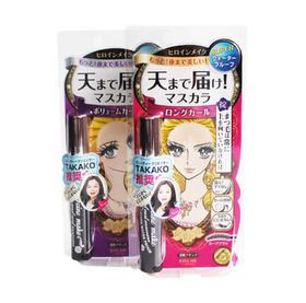 日本奇士美纤长卷翘防水睫毛膏6g 浓密卷翘防水睫毛膏6g