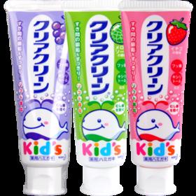 花王婴幼儿木糖醇牙膏葡萄味/草莓味/哈密瓜味70g