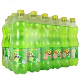 可口可乐芬达苹果味汽水600ml*24瓶整箱