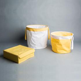 纳谷 | Contain系列柠檬小生折叠储物篮