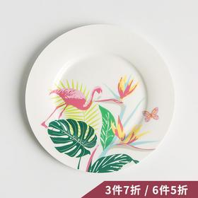 纳谷 | Reiki系列7.5寸火烈鸟款餐盘