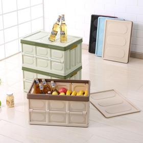 【出口日本、家车两用】薇薇安专利魔术折叠收纳箱  瞬间缩小70%  不占地方  可承受100斤重量