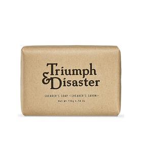 海淘 新西兰天然磨砂皂 Triumph & Disaster 130克 温和去角质 除异味 (送皂托)