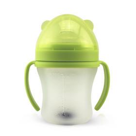 phyll必尔-tgm全硅胶带手柄特宽口防胀气奶瓶180ML/260ml