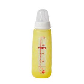 贝亲标准口径玻璃奶瓶安心组合240ML-黄 AA118