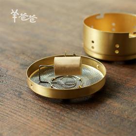 「纯铜随身灸」 艾灸盒 艾柱温灸器