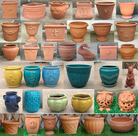 【花粉组团】红陶盆团购1-40号盆,满300个成团。到货后统一通知(限自提)
