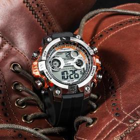 【百米水深级防水】德国伯格麦斯特全能户外手表