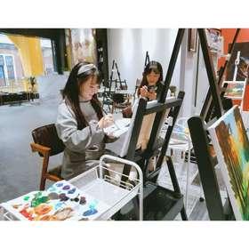 【内江万达】9.9元抢购原价95元油画体验课,素描体验课