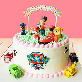 汪汪队集合 | 创意卡通主题生日蛋糕