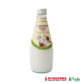 泰国进口 乐可芬LOCKFUN椰子汁饮 (含椰果肉果汁) 290ml/瓶【拍前请看温馨提示】