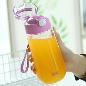 儿童水杯吸管杯宝宝饮水杯小孩杯子防摔防漏幼儿园女童水瓶家用