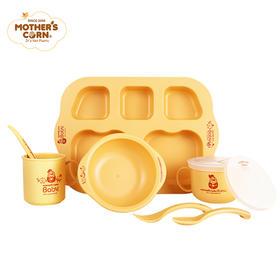 原装进口Mother'sCorn妈米儿童餐具婴儿初生儿生日礼盒套装