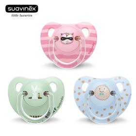 苏维妮suavinex拇指安睡型安抚奶嘴(+6个月)欧洲原装进口 仿生