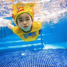 夏季遛娃,从这里开始~价值1140元的龙格亲子游泳3节小课包,真好玩仅需668元!