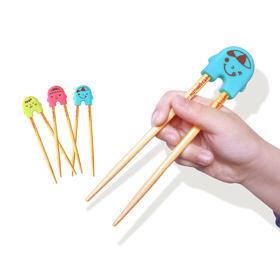 原装进口Mother's Corn妈米儿童学习筷儿童玉米餐具幼儿宝宝筷子
