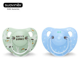 苏维妮ANATOMICAL拇指型硅胶安抚奶嘴2个装 +18个月