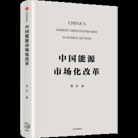 中国能源市场化改革 范必 著 中信出版社图书 正版书