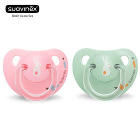 苏维妮宝宝超软安抚奶嘴 0-6个月新生婴儿安慰安睡型  原装进口