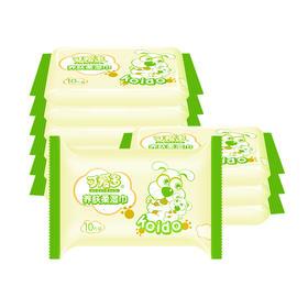 【一元闪拼】可爱多养肤柔湿巾10包装