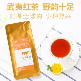 分分钟正山小种野茶 武夷山桐木关红茶茶叶浓香型散装红茶