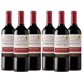 【6支装】缘峰卡本妮苏维翁, 智利 中央山谷 【6pack】Frontera Cabernet Sauvignon, Chile Central Valley