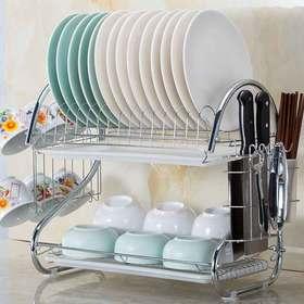 厨房置物架碗架沥水架家用放碗碟架储物架碗盘用品滤水碗筷收纳架