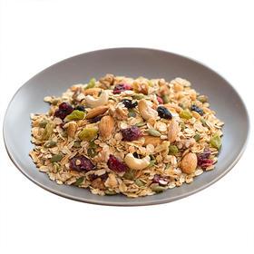 坚果果仁燕麦片干吃烘焙麦片混合坚果即食零食营养早餐350克