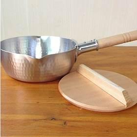 【YOSHIKAWA】日本吉川雪平锅|不锈钢锅木柄汤锅|炉灶两用