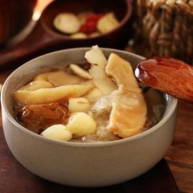 花胶银耳美肌汤品银耳莲子螺片百合蜜枣广式月子汤料包孕妇汤