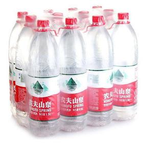 农夫山泉 天然饮用水1.5L*12