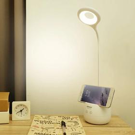 台灯护眼书桌大学生可充电式宿舍学习led儿童卧室创意床头小学生