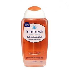 femfresh进口护理液女私处洗液异味杀菌止痒清洗液250ml