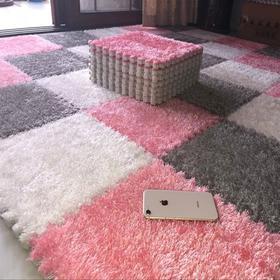 拼接绒面地毯拼图泡沫地垫卧室满铺地板垫子榻榻米