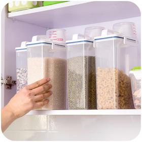 【小设计  大用途】巧居家手提带盖储米桶 环保材质 结实耐用 密封保鲜