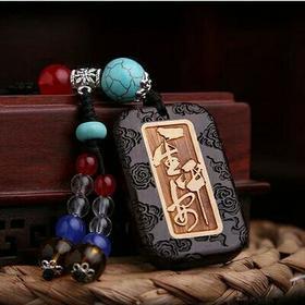 开光手工中国风汽车钥匙挂件创意挂饰男女款饰品