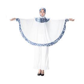 青花瓷女士礼拜套装、哈吉礼拜服