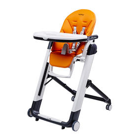 Peg-Perego SIESTA 豪华型 高脚餐椅 阳光橙 ARANCIA