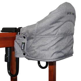 加拿大Guzzie + Guss便携式餐椅 亚麻浅灰色 G+G201H