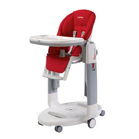 Peg-Perego TATAMIA 旗舰型 高脚餐椅 大红色 FRAGOLA