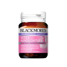 澳洲Blackmores圣洁莓胶囊调理内分泌卵巢黄体酮40粒